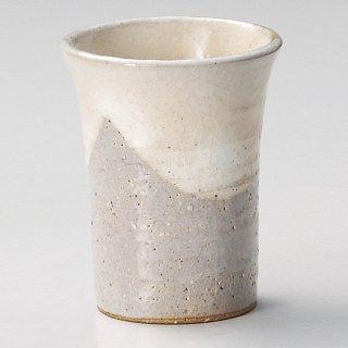美濃萩ミドルカップ 和食器 フリーカップ 業務用 約7.7×9.8×9.8cm 和バル 喫茶店 アイスコーヒー 居酒屋