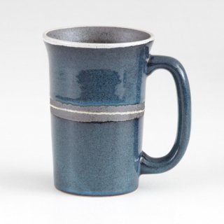 織部流しジョッキ 和食器 フリーカップ 業務用 約13×9.5×13.2cm 和バル 喫茶店 アイスコーヒー 居酒屋