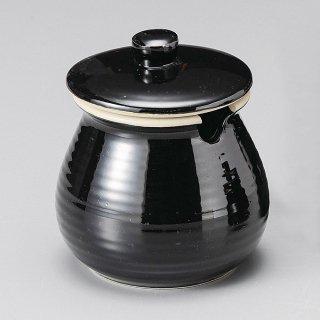 黒釉ソース入 大 和食器 カメ・薬味入れ 業務用