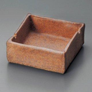 信楽角灰皿 信楽焼 和食器 灰皿 業務用