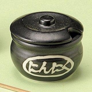 黒マットカメ型にんにく入 和食器 箸立・串入・小物 業務用