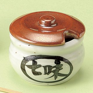 梨地カメ型七味入 和食器 箸立・串入・小物 業務用