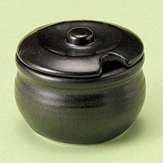 黒マットカメ型薬味入れ 和食器 箸立・串入・小物 業務用