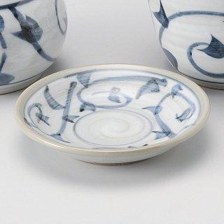古代安南やくみ皿 和食器 そば徳利・そば猪口・薬味皿 業務用 約9.5cm そば 蕎麦 ソバ うどん そうめん やくみ 薬味 皿