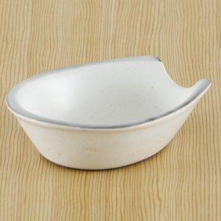 京粉引大受台 萬古焼 和食器 レンゲ(鍋用) 業務用 約11.5cm 和食 和風 鍋料理 宴会 会席料理 旅館 新年会