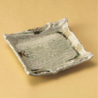 ビードロ四角皿 和食器 角皿(中) 業務用 約22cm 和食 和風 和皿 高級 お造り 揚げ物