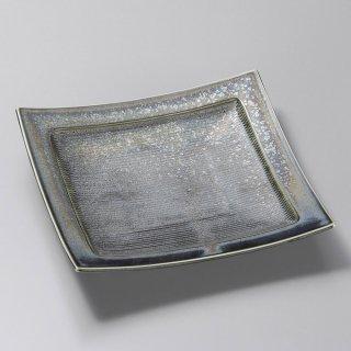 虹彩千段角皿 大 和食器 角皿(中) 業務用 約20.4cm 和食 和風 和皿 中皿 揚げ物 串物 刺身 旅館