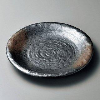 備前風石目9.0皿 和食器 丸皿(大) 業務用 約27.5cm 和食 和風 ランチ とんかつ定食 主菜