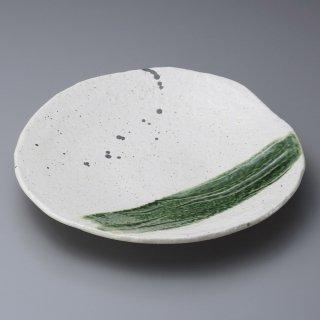 いなか道9寸丸皿 和食器 丸皿(大) 業務用 約27.5cm 和食 和風 ランチ とんかつ定食 主菜