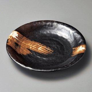 白刷毛唐津丸8.0皿 和食器 丸皿(大) 業務用 約25.5cm 和食 和風 ランチ とんかつ定食 主菜