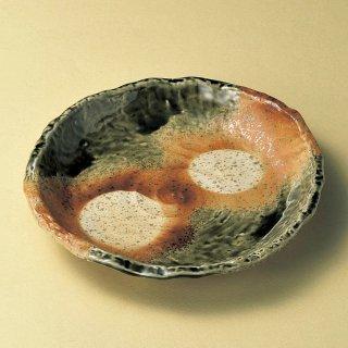 嵯峨野8.5深皿 和食器 丸皿(大) 業務用 約26cm 和食 和風 ランチ とんかつ定食 主菜