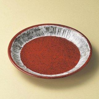 結晶マグナ9.0盛皿 和食器 丸皿(大) 業務用 約26.3cm 和食 和風 ランチ とんかつ定食 主菜