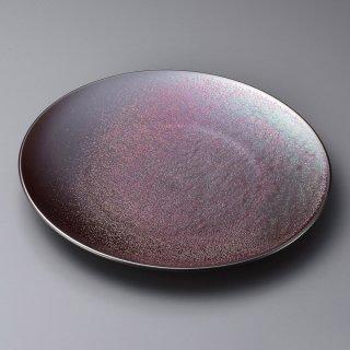 鉄結晶28cmディナー 和食器 丸皿(大) 業務用 約28.2cm 和食 和風 ランチ とんかつ定食 主菜