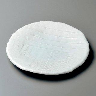 青磁ピザ丸皿 大 和食器 丸皿(大) 業務用 約26.5cm 和食 和風 ランチ とんかつ定食 主菜