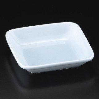 深山青磁角小皿 和食器 小皿 業務用 約10.5cm 和食 和風 漬物 たれ 薬味 サラダ 和菓子 冷奴 ミニ しょうゆ皿
