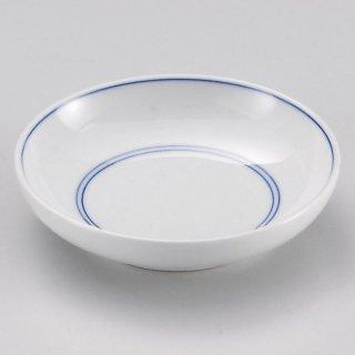 ゴス筋3.0皿 和食器 小皿 業務用 約9.3cm 和食 和風 漬物 たれ 薬味 サラダ 和菓子 冷奴 ミニ しょうゆ皿
