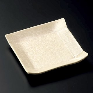 こよりパール豆皿 和食器 小皿 業務用 約8.2cm 和食 和風 漬物 たれ 薬味 サラダ 和菓子 冷奴 ミニ しょうゆ皿