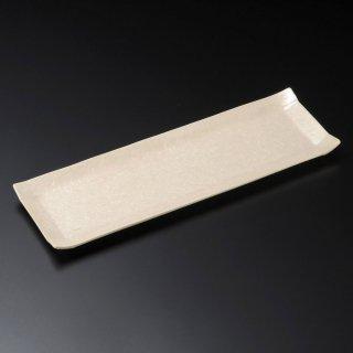 こよりパール長皿 和食器 細長皿(大) 業務用 約36.5cm 和食 和風 刺身 寿司 焼き物 串物 大皿