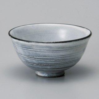 黒土粉引大平 和食器 飯碗 業務用 約12.3cm 和食 和風 茶碗 ご飯茶碗 男性用