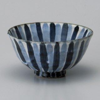 染付十草大平 和食器 飯碗 業務用 約12.3cm 和食 和風 茶碗 ご飯茶碗 男性用