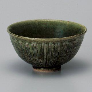 織部十草大平 和食器 飯碗 業務用 約12.3cm 和食 和風 茶碗 ご飯茶碗 男性用