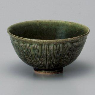 織部十草中平 和食器 飯碗 業務用 約11.2cm 和食 和風 茶碗 ご飯茶碗 一般 標準