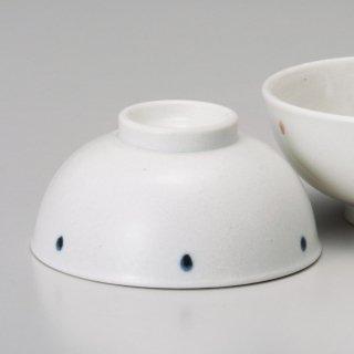 ドット 青軽量茶碗 和食器 飯碗 業務用 約11.5cm 和食 和風 茶碗 ご飯茶碗