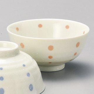 水玉PK茶碗 和食器 飯碗 業務用 約11.5cm 和食 和風 茶碗 ご飯茶碗