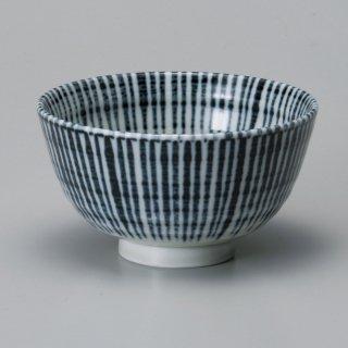 藍十草汁碗 和食器 飯碗 業務用 約12.1cm 和食 和風 茶碗 ご飯茶碗