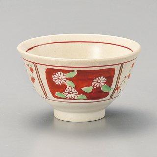 間取赤絵軽々飯碗 和食器 飯碗 業務用 約11.5cm 和食 和風 茶碗 ご飯茶碗