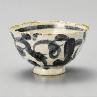 たこ唐草新型飯碗 和食器 飯碗 業務用 約11.4cm 和食 和風 茶碗 ご飯茶碗