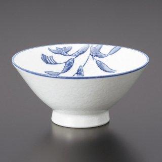 淡雪芦5.0大茶 和食器 ライス丼・茶漬 業務用 約15.2cm 和食 和風 ご飯茶碗 どんぶり 小料理屋 料亭 ひつまぶし