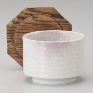 紫吹き飯器蓋付 小 和食器 飯器 業務用 約12.5cm 和食 和風 白米飯 炊き込みご飯