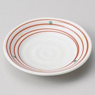 手描きコマ筋4.0皿 和食器 フルーツ皿・銘々皿・取皿 業務用 約12cm 和食 和風 プレート フルーツ デザート 和菓子 甘味 ケーキ 和テイスト 定番 取り皿