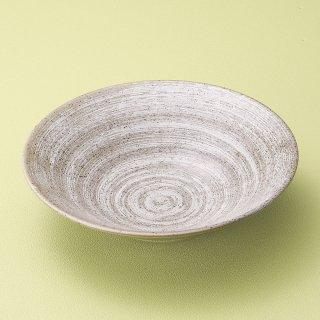 わら土リップル7.0鉢 和食器 盛鉢 業務用 約23.2cm 和食 和風 鉢 大鉢 サラダ 揚げ物 煮物 ボウル 創作料理 ボール 人気 定番