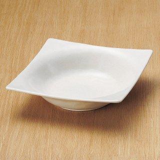 白唐津角盛鉢 和食器 盛鉢 業務用 約22cm 和食 和風 鉢 大鉢 サラダ 揚げ物 煮物 ボウル 創作料理 ボール 人気 定番