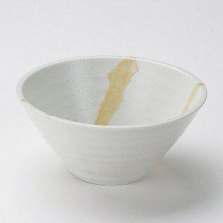 白湧水6.5麺鉢 和食器 丼(大) 業務用 約19.5cm 和食 和風 どんぶり 丼鉢 らーめん 釜揚げうどん