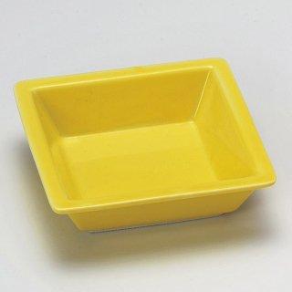 黄釉角鉢 和食器 松花堂パーツ 業務用 約11.5cm 和食 和風 御膳 旅館 和食レストラン 小料理屋 刺身 天ぷら 煮物 酢の物 和え物