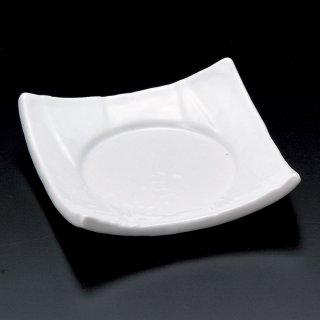 白強化松花堂四方皿 白い器 和食器 松花堂パーツ 業務用 約11cm 和食 和風 御膳 旅館 和食レストラン 小料理屋 刺身 天ぷら 煮物 酢の物 和え物