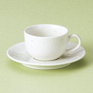 洋風粉引兼用碗皿 和食器 コーヒー碗・受皿 業務用 和風 来客用 マイカップ 和モダン おしゃれ