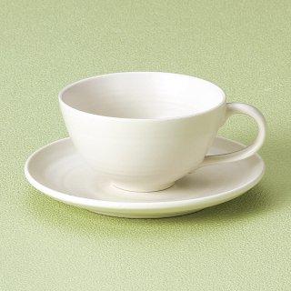 白コーヒー碗皿 和食器 コーヒー碗・受皿 業務用 和風 来客用 マイカップ 和モダン おしゃれ