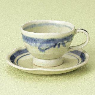御深井コーヒー碗皿 和食器 コーヒー碗・受皿 業務用 和風 来客用 マイカップ 和モダン おしゃれ