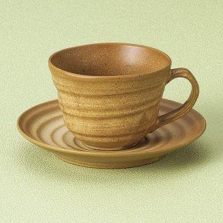 伊羅保コーヒー碗皿 和食器 コーヒー碗・受皿 業務用 和風 来客用 マイカップ 和モダン おしゃれ