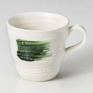 白釉渦潮マグカップ 和食器 マグ 業務用