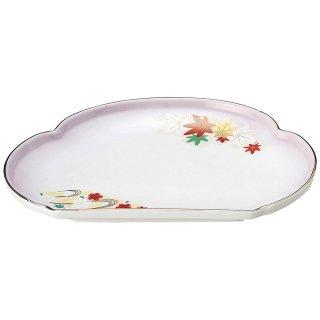 嵐山 松型天皿 和食器 天皿 業務用 約24.3cm 和食 和風 天ぷら うどん屋 蕎麦屋