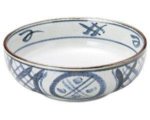 古染間取丸紋 7.0ボール 和食器 麺ボール・多用ボール 業務用 約21.8cm 和食 和風 うどん 和風らーめん サラダボウル