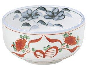赤絵花 深口6.0ボール 和食器 麺ボール・多用ボール 業務用 約18.5cm 和食 和風 うどん 和風らーめん サラダボウル