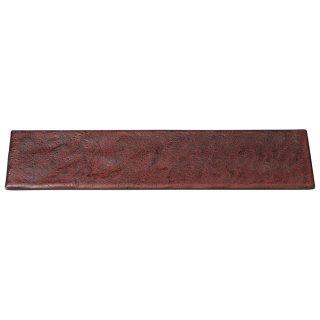 岩肌シリーズ 長角36cm皿 紅柚子 和食器 細長皿(大) 業務用 約36cm 和食 和風 刺身 寿司