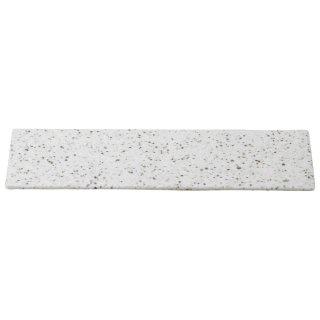 岩肌シリーズ 長角36cm皿 白御影 和食器 細長皿(大) 業務用 約36cm 和食 和風 刺身 寿司