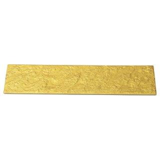 岩肌シリーズ 長角36cm皿 ゴールド 和食器 細長皿(大) 業務用 約36cm 和食 和風 刺身 寿司